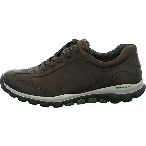 Cordones de Gris Gabor para Mujer Zapatos Y0WEgw