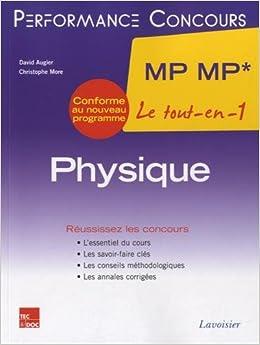 Book Physique 2e année MP MP* : Le tout-en-un