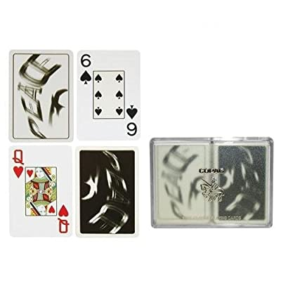 Copag Silver Series Bridge Size Playing Cards (Peace): Sports & Outdoors