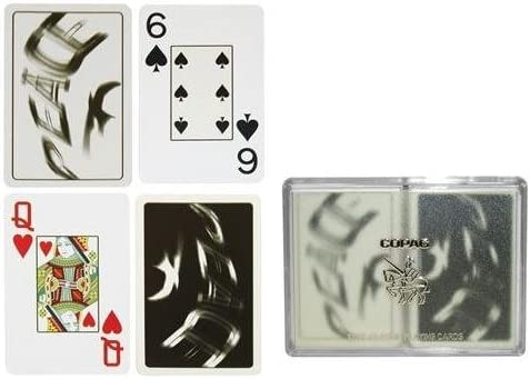 B000S60YAC Copag Silver Series Bridge Size Playing Cards (Peace) 41cYRsUgNZL