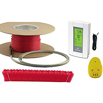 30 Sqft Cable Set Electric Radiant Floor Heat Heating