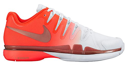 Nike Zoom Vapor 9.5 Tour Total Crimson/Metallic Rose Gold-White Women's  Tennis Shoes