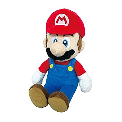 "Little Buddy Super Mario All Star Collection 1414 Mario Stuffed Plush, Multicolored,9.5"": Toys & Games"
