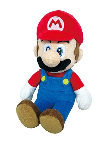 Little Buddy Super Mario All Star Collection 1414 Mario Stuffed Plush, 9.5