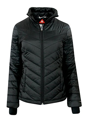 Columbia Women's Morning Light II Insulated Omni-Heat Jacket, BLACK (MEDIUM) by Columbia (Image #2)