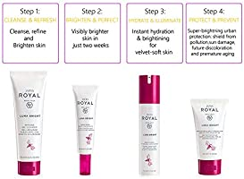 Jafra Royal Luna Bright Ritual For Advanced Skin Care Kit Solution For Women S Buy Online At Best Price In Uae Amazon Ae In november 2004, two bright eyes singles, lua and take it easy (love nothing), reached the two top spots on the billboard hot 100 single sales. jafra royal luna bright ritual for