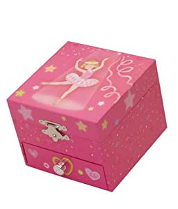 Musicbox kingdom 22133 musical jewelry box for Amazon ballerina musical jewelry box