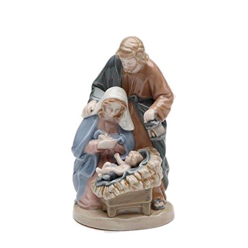 Cosmos Gifts 10526 4-Inch Nativity Figurine, Mini Nativity Ceramic