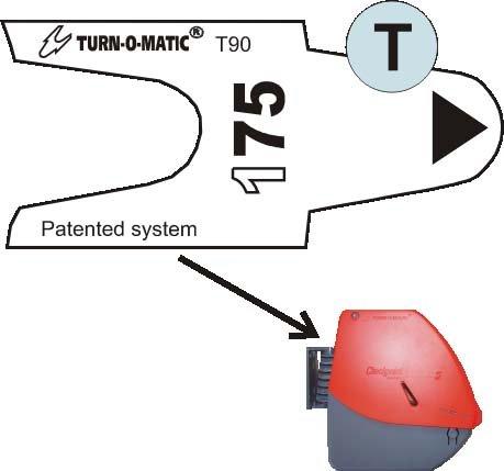 Turn-O-Matic T90 boleto - dispensador rojo: Amazon.es: Oficina y papelería