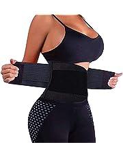 Leeofty Waist Trainer Belt for Men Women Corset Body Shaper Belt Tummy Slimming Belt Cincher