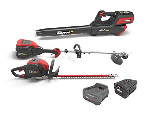 Snapper XD 82V MAX Electric Cordless Battery-Powered Total Yard Bundle, 1687886, SXDTYB ()