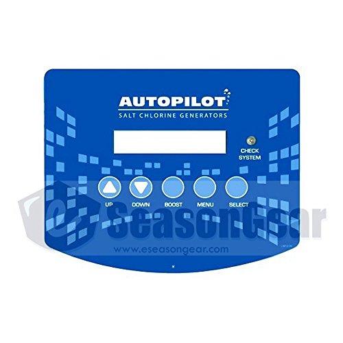AutoPilot LBP0109 Label, for AquaCal AutoPilot Pool Pilot NANO Power Supply Front Cover Screen Display - Autopilot Display