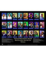 Black Inventors Then and Now Poster 24x18 inches (BNV)