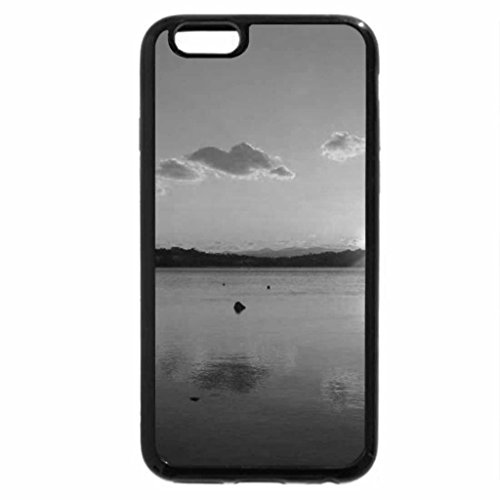 iPhone 6S Case, iPhone 6 Case (Black & White) - The sun is rising