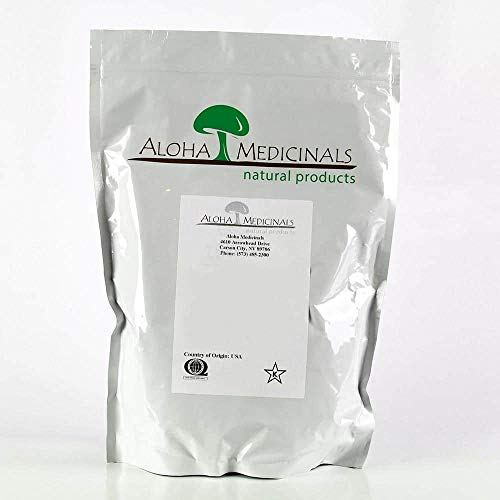 Aloha Medicinals - Pure Red Reishi (Ganoderma lucidum) - 1 Kilo Bag