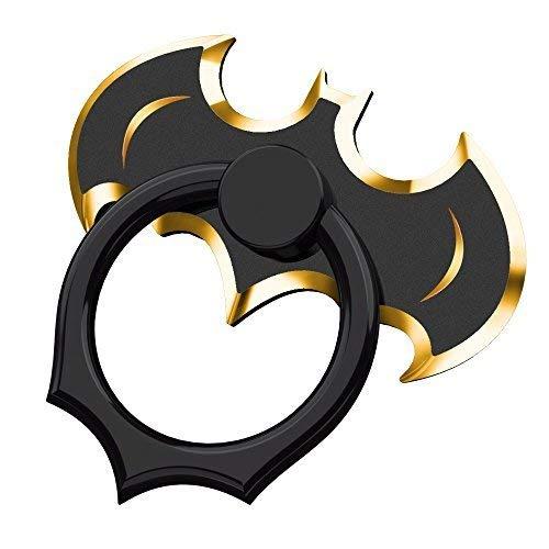 OATSBASF Finger Ring Holder,360° Rotation Metal Stand Finger Grip Kickstand, Anti-Drop Finger Holder for Most Devices & Cellphone