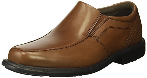 Rockport Men's Style Crew Moc Toe Slip On Oxford, Truffle Tan, 11.5 M US (Moc Rockport Toe)