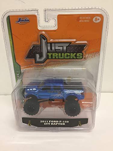 (Just Trucks 2011 Ford F-150 SVT Raptor Off-Road 1:64 Scale Truck)