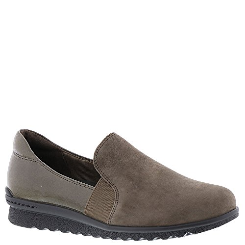 Rockport Womens Truflex Chenole Slip-On Olive Grey S