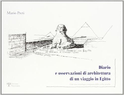 Book Diario e osservazioni di architettura di un viaggio in Egitto