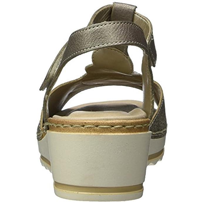 Scarpe E Borse Da Donna Sandali Remonte R6054 Con Chiusura A T