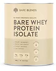 Bare Blends - 100% Bare Whey Protein Isolate Powder | NZ WPI | All Natural | non-GMO | Sugar Free