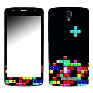 "Motivos Disagu Design Skin para ZTE L5 Blade Plus: ""Tetris No. 1"""