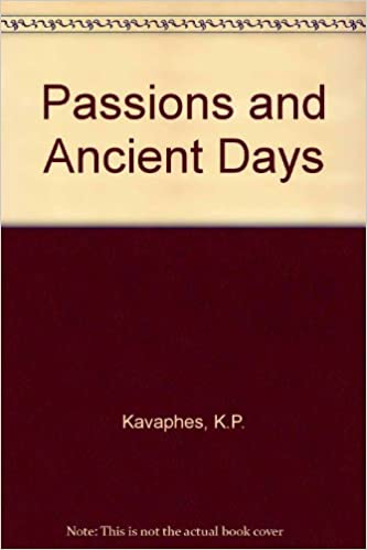 Book Passions and Ancient Days