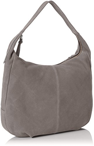 Marc OPolo Damen Hobo Bag M Schultertaschen, 40x33x8 cm Blau (Flint Stone 147)