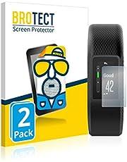 BROTECT 2x Antireflecterende Beschermfolie compatibel met Garmin Vivosport Anti-Glare Screen Protector, Mat, Ontspiegelend