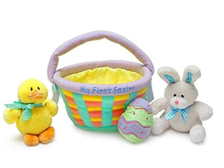 Amazon my first easter basket baby gund toys games negle Gallery