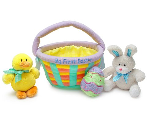 Amazon my first easter basket baby gund toys games negle Image collections