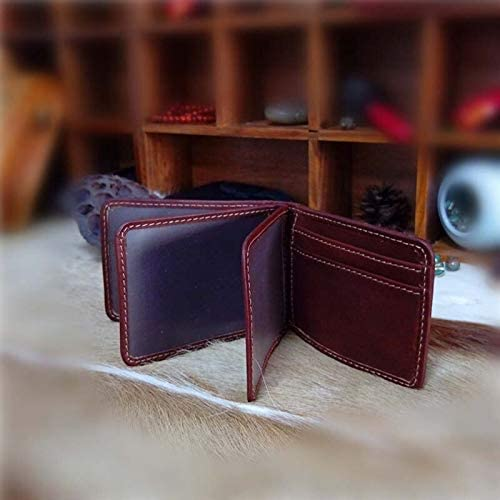 AETOO Value Leather Wallet Tree Paste Retro Color rub Coin Female Long Wallet Color: 4 Gimax Card /& ID Holders