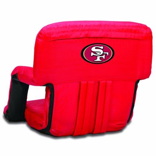 NFL San Francisco 49ers Portable Ventura Reclining Stadium Seat, Red]()
