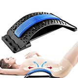 Ammonojo Back Strether-Lower Back Strether for Pain Relief,Spine Deck Back Stretcher with Magnetic Acupressure Points, Multi-Level Lumbar Support for Lower Back Pain