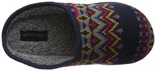 Animal Men's Eazy Slippers - Total Eclipse Navy