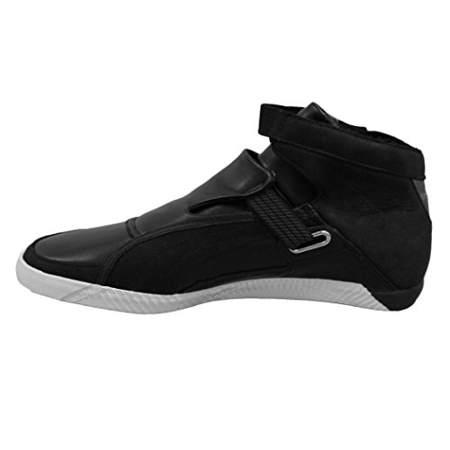 Puma striscia Roaring Cat Mid Top Motorsport Lifestyle Shoes Black/White shop cheap price cheap sale in China free shipping explore best cheap online 82kTbn8Ho