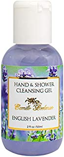 product image for Camille Beckman Hand and Shower Cleansing Gel, English Lavender, 2 Ounce