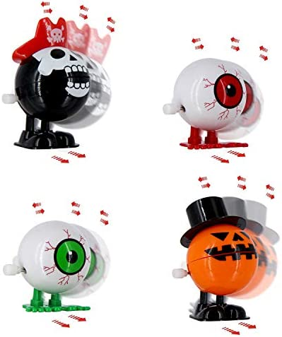 41cYaEqtABL. AC  - heytech 12 PCS Wind-up Toys for Halloween Assorted
