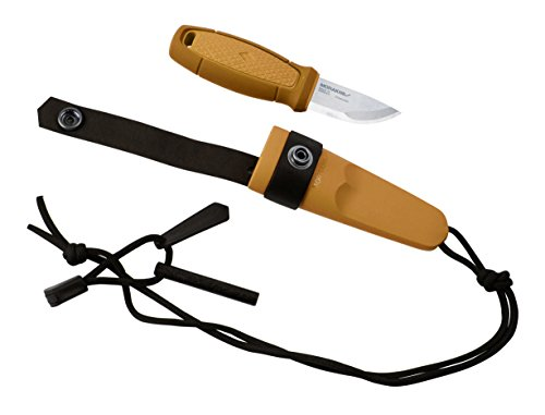 Morakniv-Eldris-Fixed-Blade-Pocket-Sized-Knife-with-Sandvik-Stainless-Steel-Blade-Lanyard-and-Firestarter