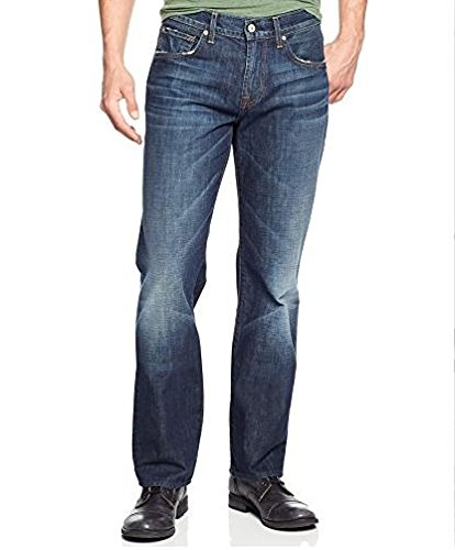 7 For All Mankind Men's Carsen Easy Straight Leg Jean, Route