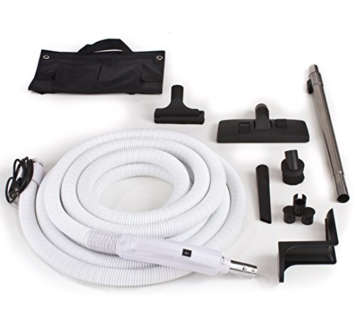 Central Vacuum Hose and Tool Kit Designed to Fit Nearly Any Unit (Gv Central Vacuum Kit compare prices)
