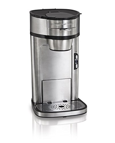 Hamilton Beach 49981A Coffee Maker, Single Serve, Silver (Certified Refurbished)