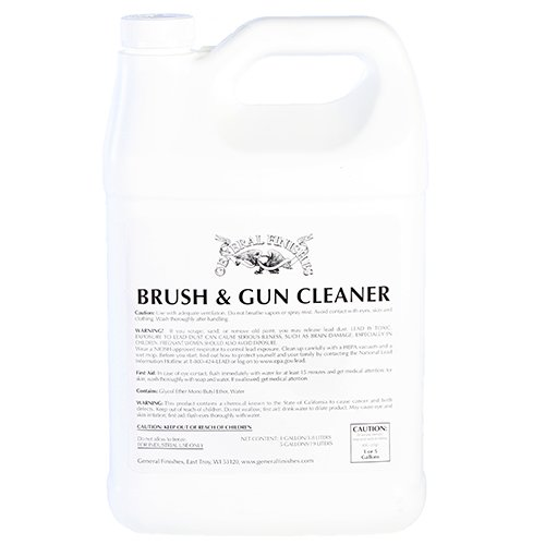 General Finishes Brush and Gun Cleaner, 1 Gallon