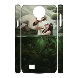 SamSung Galaxy S4 I9500 Little mermaid 3D Art Print Design Phone Back Case Custom Hard Shell Protection JK069837