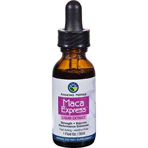 Black Seed Liquid Extract - Maca Express - Alcohol Free - 1 oz (Pack of (Extract Express Alcohol)
