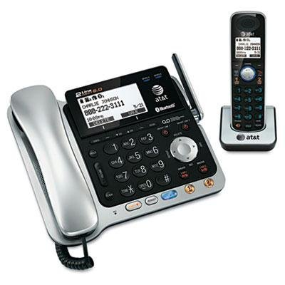 At&T - Tl86109 Two-Line Dect 6.0 Phone System With Bluetooth Product Category: Audio Visual Equipment/Telephones by Original Equipment - Audio Categories