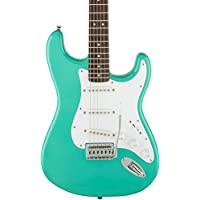 Squier Bullet Stratocaster SSS Electric Guitar with Tremolo (Sea Foam Green)