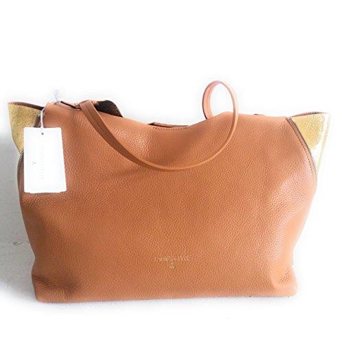 shiny borsa 27 cm beige clear pelle morbida PEPE A1W PATRIZIA A e 2V7329 x gold 36 L pochette mis qATffHSvU