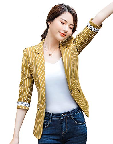 SUSIELADY Womens Casual Button Blazer product image